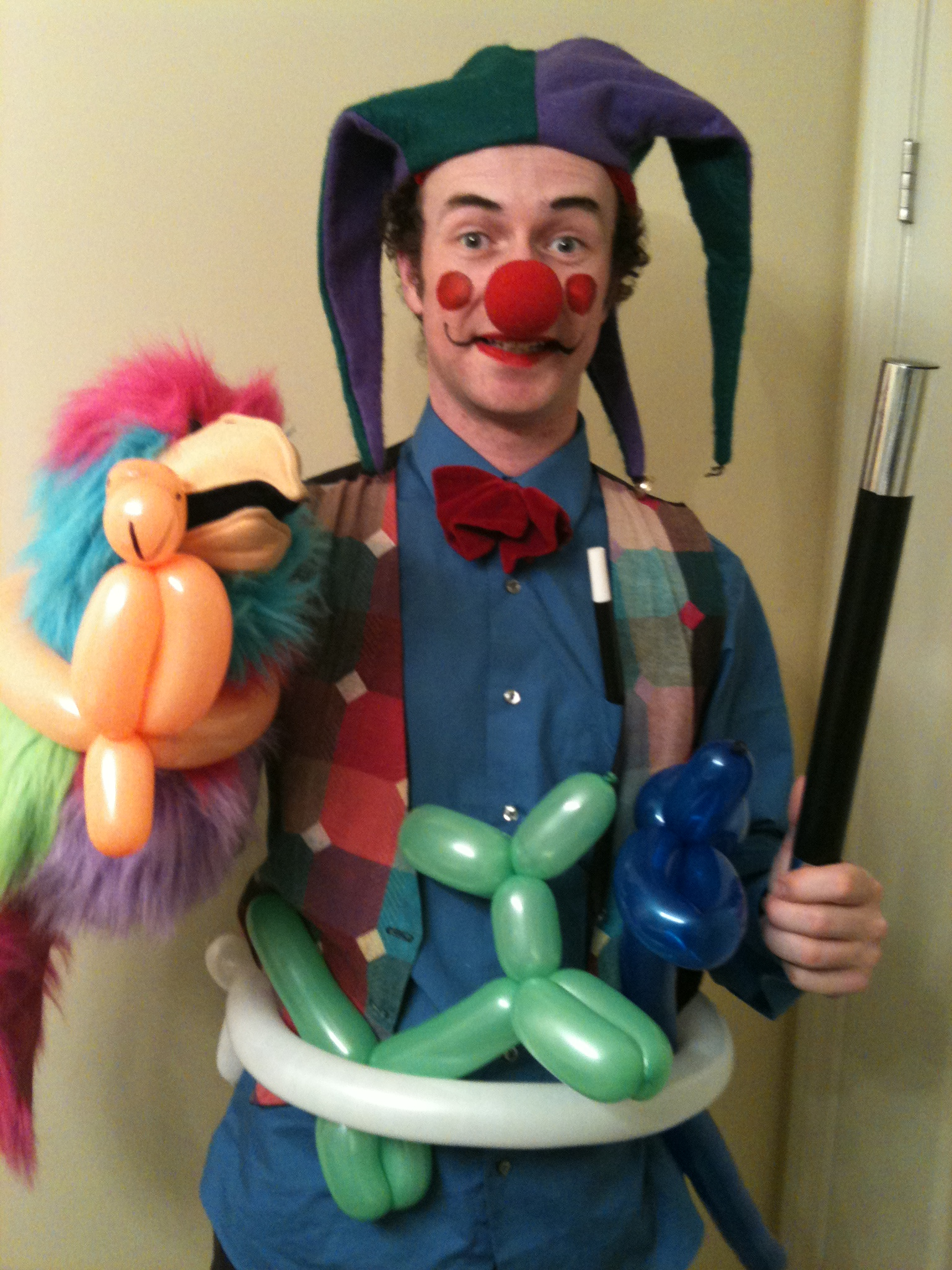 Clowns party referee kids party entertainment 310 935 7373 for Face painting clowns for birthday parties
