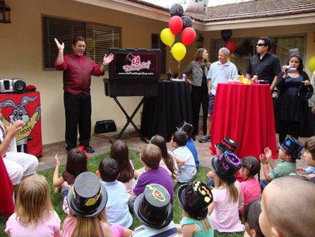kids magician magic party los angeles magician party magic