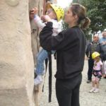 mobile Rock climbing wall for rent