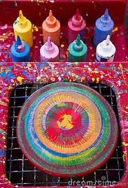 spin art party