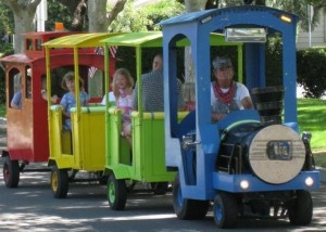 trackless train los angeles train party trackless train