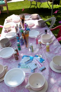 kids party tea party
