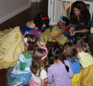 snow white character party