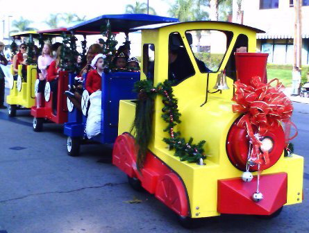 christmas train for rent