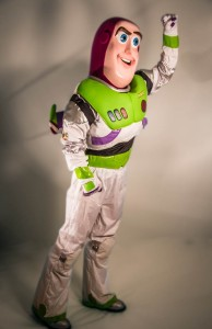 buzz  lightyear mascot HDE
