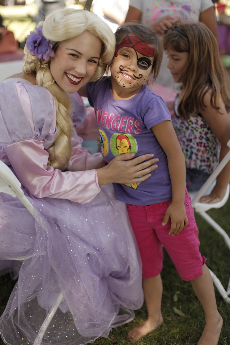 rapunzel and pirate