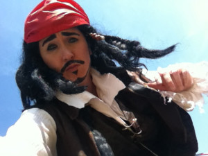 pirate Jack close up