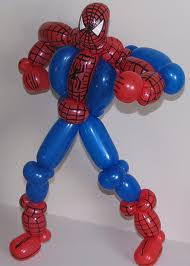 balloon spider man