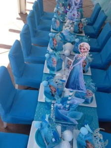frozen party table