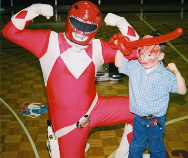 power red ranger