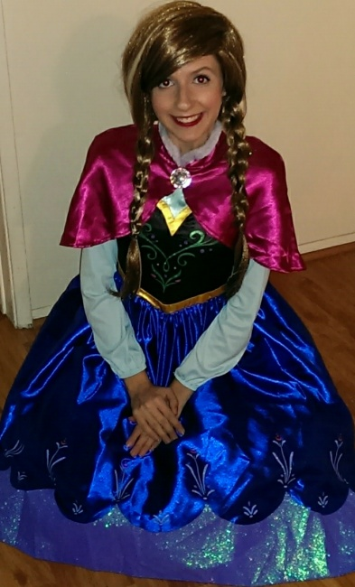 Anna Frozen Princess
