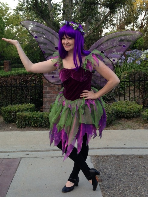 fairy purple