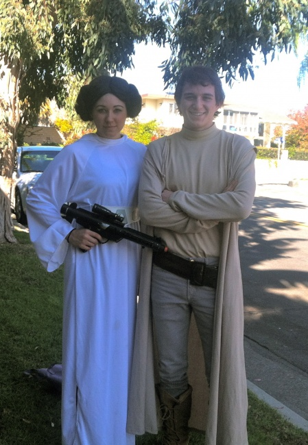 Star Wars Luke & Princess